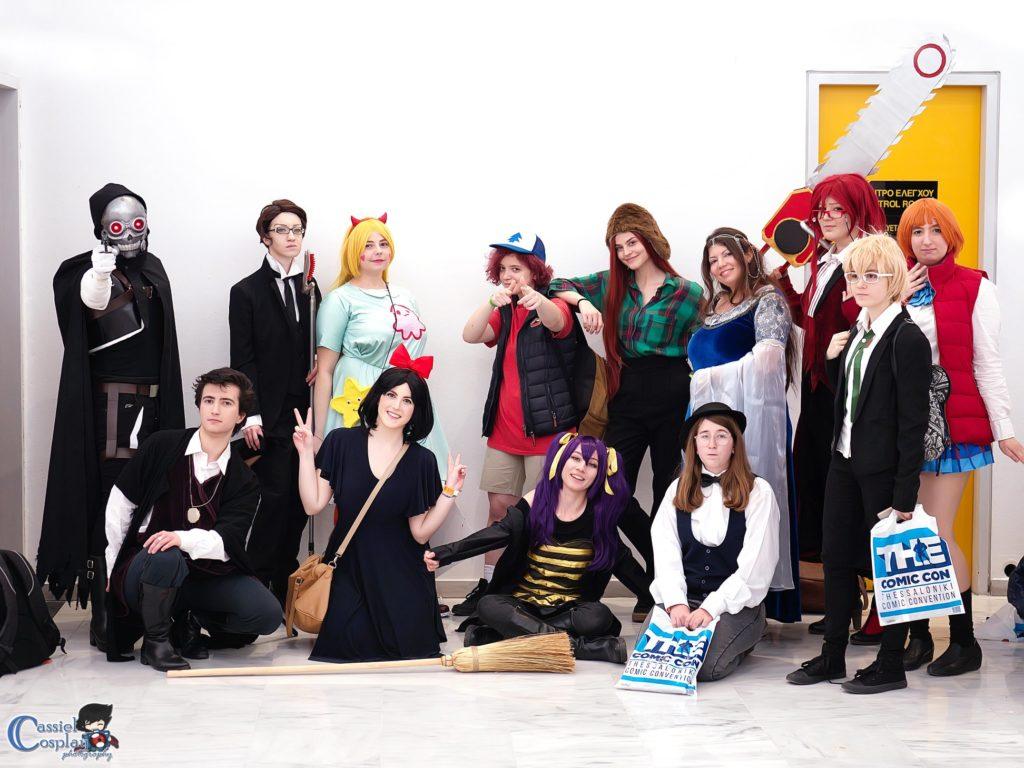 Cosplayers στο  the Comic con της Θεσσαλονίκης