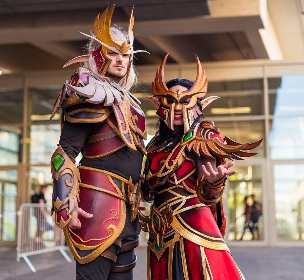 Δυό World of warcraft cosplayers
