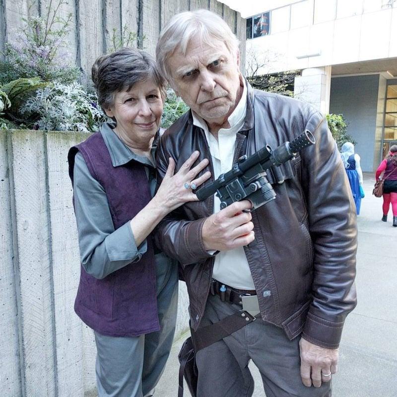 Han Solo και Leia Organa
