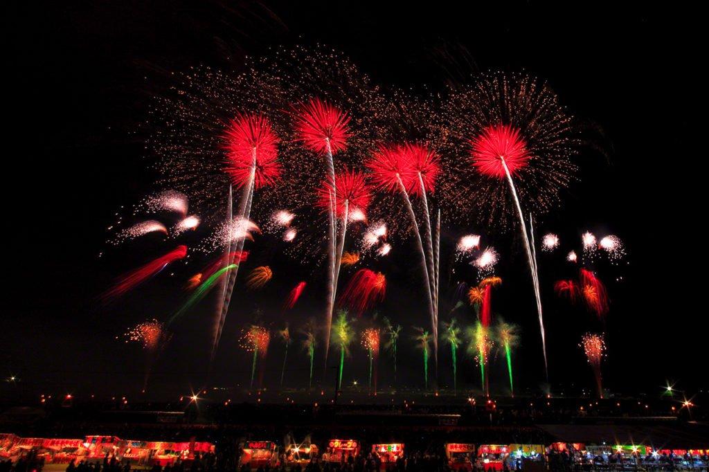 Τα πυροτεχνήματα στην Ιαπωνία