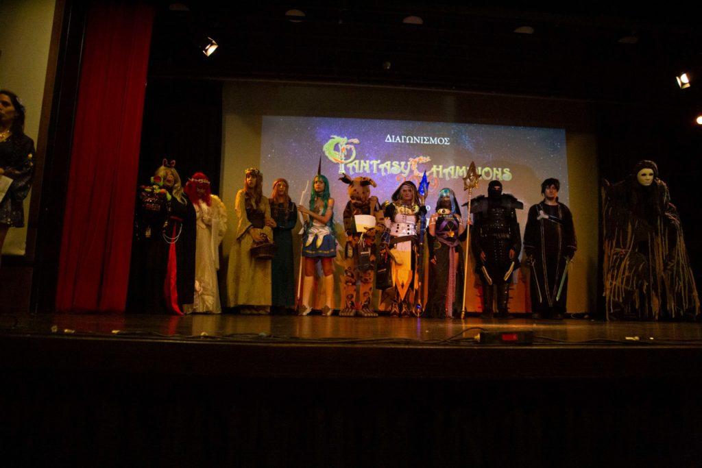 διαγωνισμός cosplay
