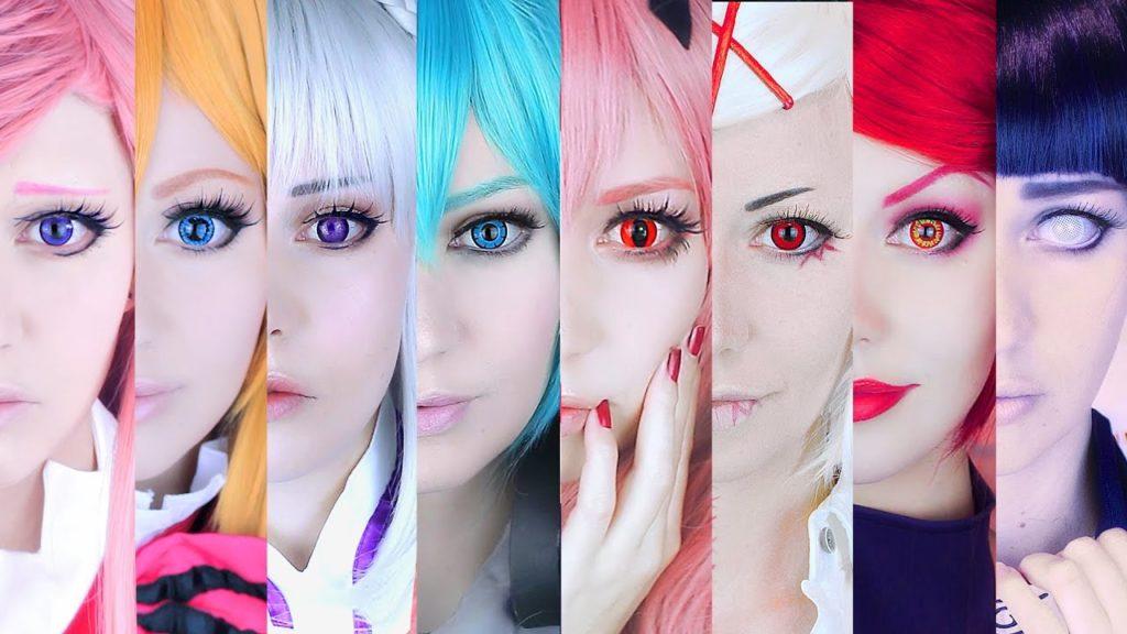 Διάφορα cosplay με φακούς.