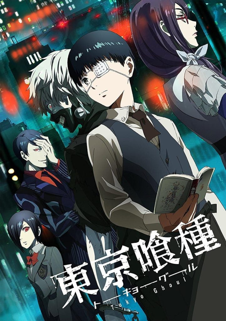 Tokyo ghoul anime.