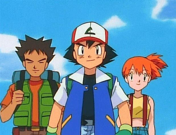 Οι χαρακτήρες του anime Pokemon.