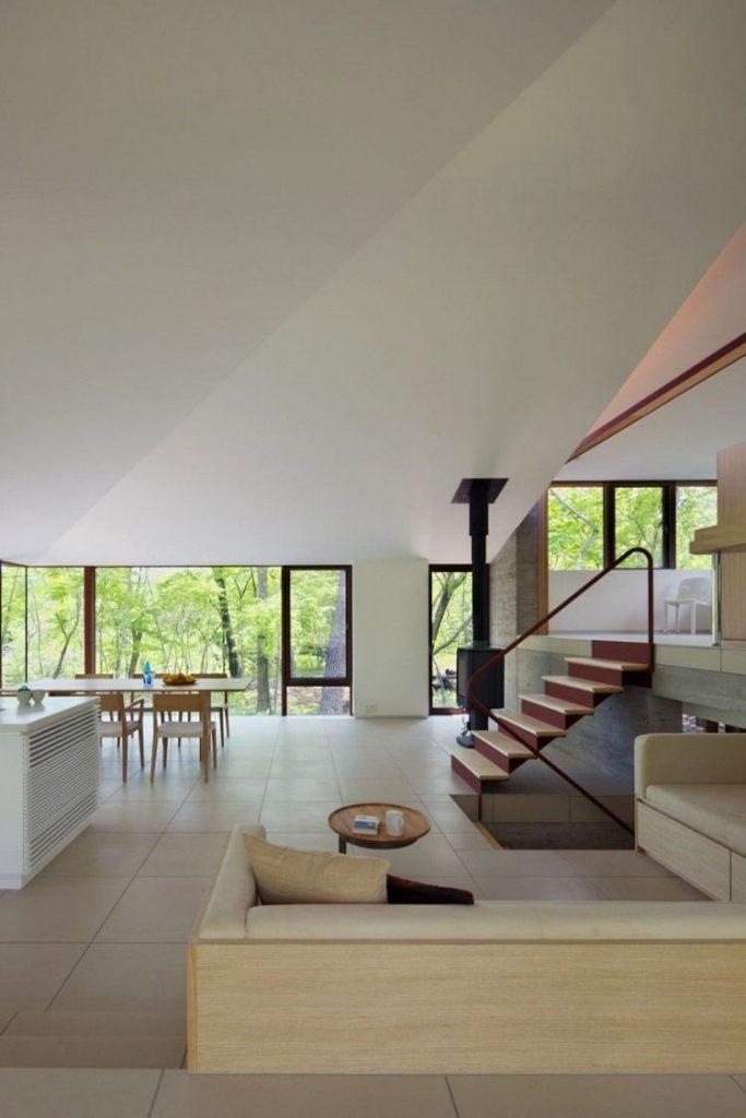 Minimalistic house, Japan.