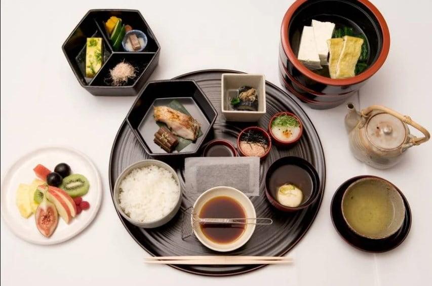 Japanese minimalistic meal.