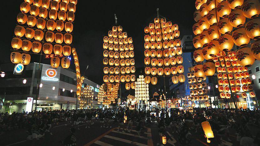 Kanto στο φεστιβάλ.