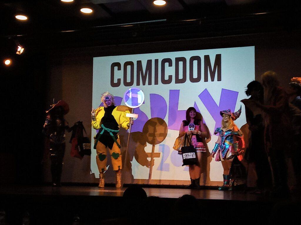 Comicdom cosplay contest.